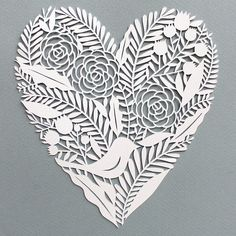 Heart Paper Cut | Giochi Di Carta