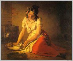 Friedrich von Amerling(1803ー1887)「The Deaf Girl」