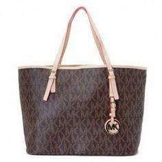 84efd3abba60 michael kors bags and michael kors handbags michael kors jet set logo  macbook travel large tote brown