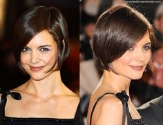 katie holmes short hair - Google Search