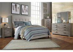 Beige Queen Upholstered Bed, /category/bedrooms/beige-queen-upholstered-bed-3.html