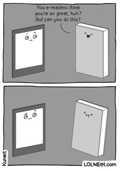 book vs e-reader