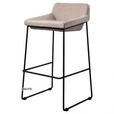 Comfy (Комфи) Concepto барный стул мягкий светло-серый