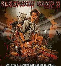 Shop Sleepaway Camp II: Unhappy Campers [Blu-ray] at Best Buy. Find low everyday prices and buy online for delivery or in-store pick-up. Horror Movie Posters, Horror Films, Return To Sleepaway Camp, Camp Songs, Teenage Wasteland, 1080p, Dvd Blu Ray, Scary Movies, Zombie Movies