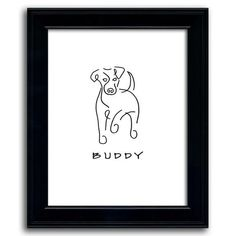 Simple lines create a playful Jack Russell dog line drawing. Add the name of your pet Russell to personalize the art. Shop here for more line drawing art. Dog Line Drawing, Puppy Drawing, Drawing Art, Simple Art, Simple Lines, Jack Russell Puppies, Russell Terrier, Cartoon Drawings Of Animals, Draw Animals