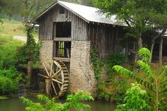 Great view of the mill! #explorepark Photo taken by craigfinlay - grist mill