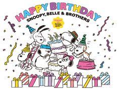 Snoopy Woodstock The Big Five Oh Snoopy Geburtstag