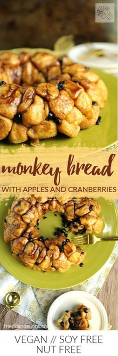Homemade Vegan Monkey Bread is sure to become an i…