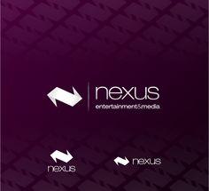 Nexus Entertainment and Media logo concept - by James Kontargyris