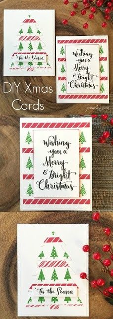 12 Days of Christmas *Day Fixing Mistakes & 2 Easy Cards Christmas Card Sayings, Homemade Christmas Cards, 12 Days Of Christmas, Xmas Cards, Christmas Crafts, Christmas Ideas, Diy And Crafts, Paper Crafts, Card Making Tutorials