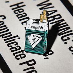 Reaper's Cigs pin