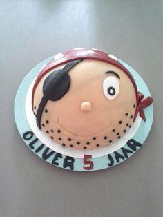 Piraten taart