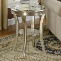 Found it at Joss & Main - Hanover Mirrored End Table
