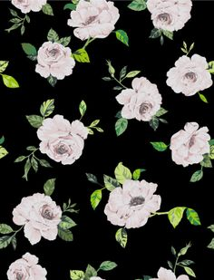 FLOWERS PATTERNS by Catalina Montaña, via Behance