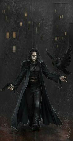 Brandon Lee from The Crow