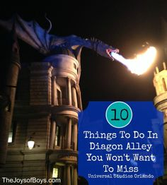 10 Top Things to do in Diagon Alley - Universal Studios Orlando http://www.orlandocondoatlegacydunes.com/