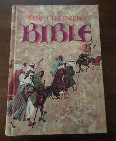 1965 Golden Press The Children Bible