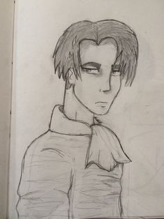 Levi from attack on titan. What do you guys think? :)