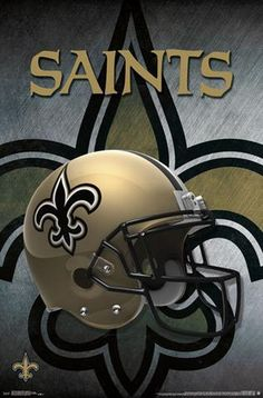 New Orleans Saints Official NFL Football Team Helmet Logo Poster - Trends International Football Squads, Nfl Football Helmets, Giants Football, Football Fans, New Orleans Saints Logo, New Orleans Saints Football, Official Nfl Football, Nfl Saints, Helmet Logo