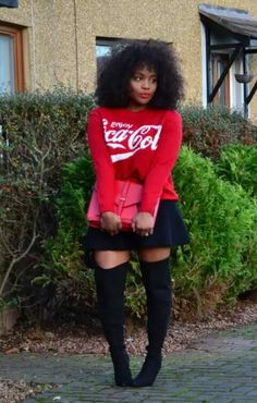 Thigh High Minis…  Style by Ada