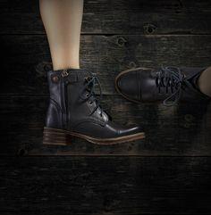 Shoe Embassy | Stomping Bet - Hoven - Black #shoeembassy