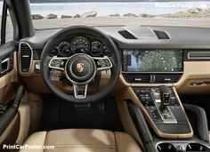 Porsche Cayenne luxury SUV with sports styling will have the new edition for the upcoming season. The next-gen 2019 Porsche Cayenne is a SUV that includes a stunning inside Porche Car, Porsche Suv, Porsche Macan S, New Porsche, Porsche 2019, Porche Cayenne, Porsche Cayenne E Hybrid, Cayenne Turbo, Classic Cars