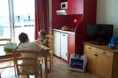 Exemple de cuisine/salle à manger - Résidence Aguylène à Carnon