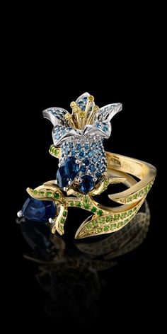 Rosamaria G Frangini   High Floral Jewellery   Master Exclusive Jewellery - Collection - Diamond flowers