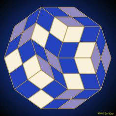 Gallery : Penrose tilings