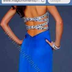 Prom dress back