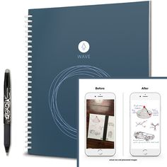 Smart Notebook - can be fully erased in the microwave
