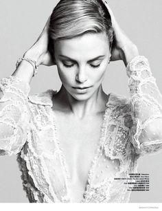 Charlize Theron Harper's Bazaar China Nico