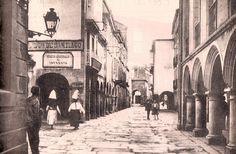 Rúa Nova  1er cuarto siglo XX Fotos antiguas de Santiago