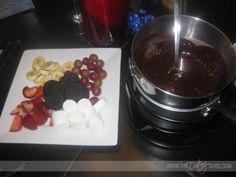 FONDUE DATE!!!!  I love fondue at home!  This has cute ideas and recipies!  www.thedatingdivas.com  #fondue #homedate #anniversarydate