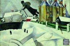 Chagall, entre guerre et paix au musée du Luxembourg