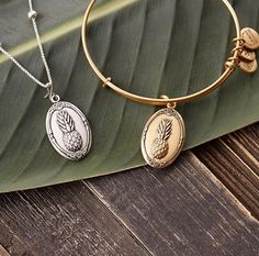 ALEX AND ANI Pineapple Charm Bangle | ALEX AND ANI Pineapple Necklace Charm | Save $5 off the August charm of the month bangle and $3 off the chain station charm