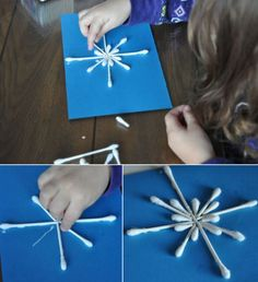 Create creative snowflakes – 50 simple ideas for the festive Christmas decorations - DIY Crafts for Kids Diy Crafts To Do, Holiday Crafts, Crafts For Kids, Christmas Art, Christmas Decorations, Christmas Snowflakes, Xmas Party, Handmade, Barn