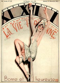 lllustration by Georges Leonnec For La Vie Parisienne December 31 1927