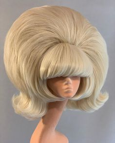 Cosplay Hair, Cosplay Outfits, Vintage Hairstyles, Wig Hairstyles, Hairspray Musical, Drag Wigs, Baby Buns, Wig Styles, Big Hair