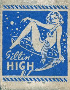 Sittin' High Matchbook