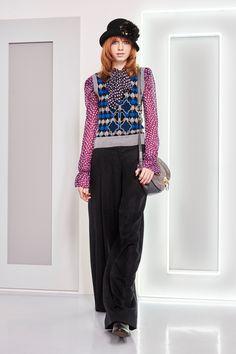 Diane von Furstenberg Fall 2016 Ready-to-Wear Fashion Show - Bruna Dapper
