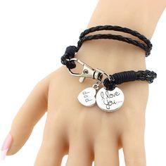 Mystic River Online Vintage Anchor Bracelet