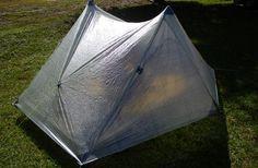 Zpacksの新作 Hexamid Duplex Tent は、2人用なのにペグ込みでわずかXXXg
