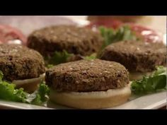 How-To: Vegan Burger Patties ~ a Gluten Free, Soy Free, Nut Free, Dairy Free Recipe - YouTube