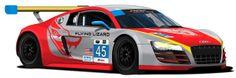 2014 #Audi #R8 #Daytona #Rolex 24 livery #AudiHuntValley