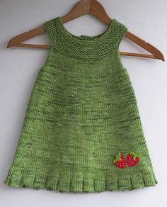 Kız Bebeklere Örgü Elbise Modelleri 195 - Mimuu.com