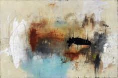 KECK ABSTRACT ART PAINTING OF THE DAY: new original abstract art painting - in spite of everything