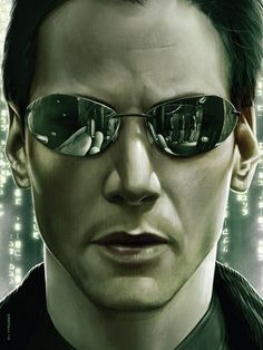 The Matrix by Dave Merrell - Home of the Alternative Movie Poster -AMP- Epic Movie, Movie Tv, The Matrix Movie, Matrix Reloaded, Keanu Reaves, Geek Movies, Movie Archive, Keanu Charles Reeves, Film Images