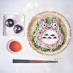 Totoro noodles Credit:weheartit