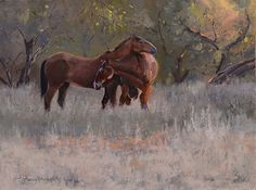 Gentle Morning by Nancy Romanovsky Oil ~ 12 x 16